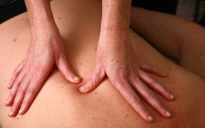 Massage in denmark in a chiropractise clinic (real situation)